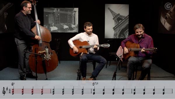 Online Workshop Gypsy Jazz Basics: Begleitung - ein Supergain Kurs mit Daniel Fischer