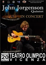 John Jorgenson DVD - Live at Teatro Olympico 2 DVDs
