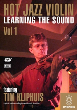 HOT JAZZ VIOLIN LEARNING THE SOUND- DVD