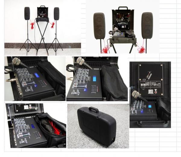 Leem SB-100 Portable PA System Demo