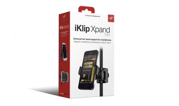 IK Multimedia iKlip Xpand Mikrofonständer für Smartphone