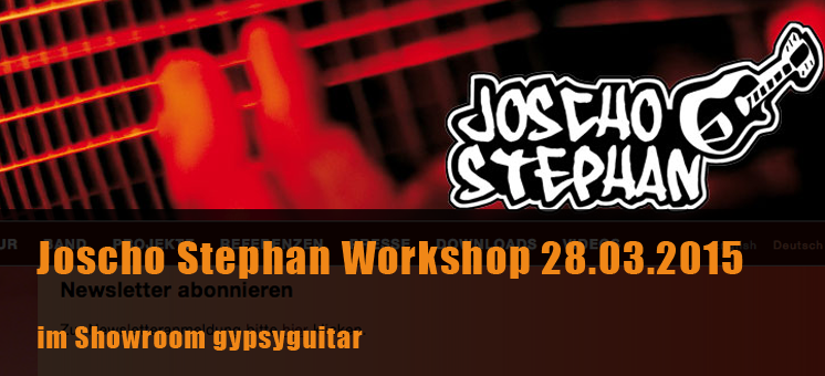 Workshop Joscho Stephan