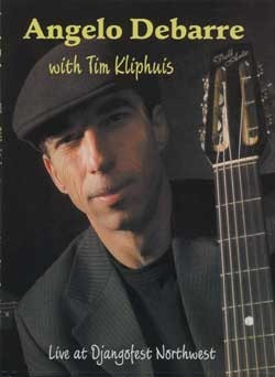 Angelo Debarre and Tim Kliphuis DVD (Zone 1) - Live at Djangofes
