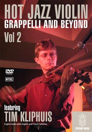 HOT JAZZ VIOLIN GRAPPELLI AND BEYOND- DVD