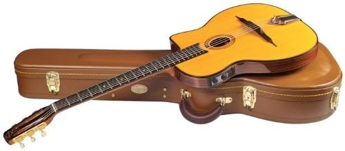 Saga Gitane DG-455 Acoustic Electric Oval hole