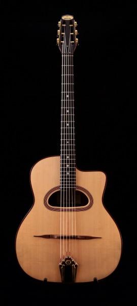 2020 Goulielmos Selmer Guitar D-Hole 670