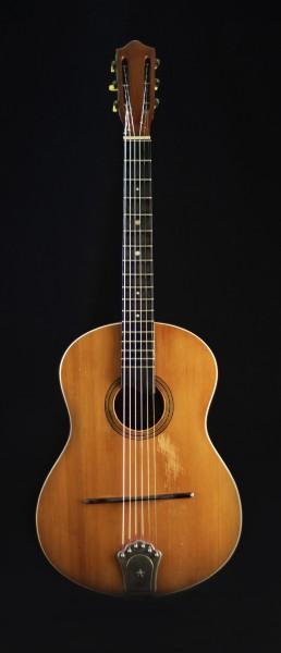 Castelluccia made for Beuscher 40/50er Vintage Workhorse Guitar