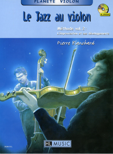 Le Jazz au violon Methode Vol.2