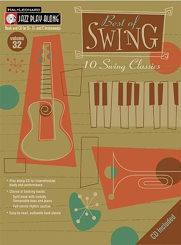 Jazz Play Along Volume 32: Best Of Swing Classics mit CD!!