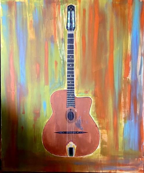 Wawau malt: Djangos Gitarre