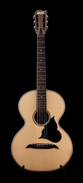 Goulielmos Parlor Guitar Rebetiko M23