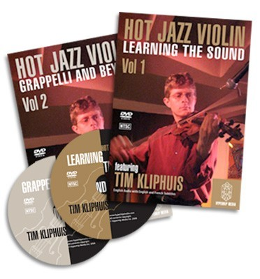 HOT JAZZ VIOLIN 2 Volume Set LEARNING THE SOUND AND GRAPPELLI ..