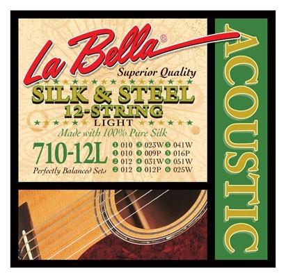 La Bella 710 Silk & Steel