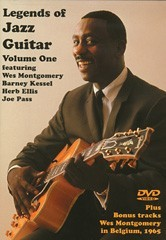 DVD legends of jazz guitar