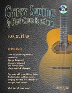 Bruce Dix Gypsy Swing & Hot Club Rhythm For Guitar Tab Book/CD