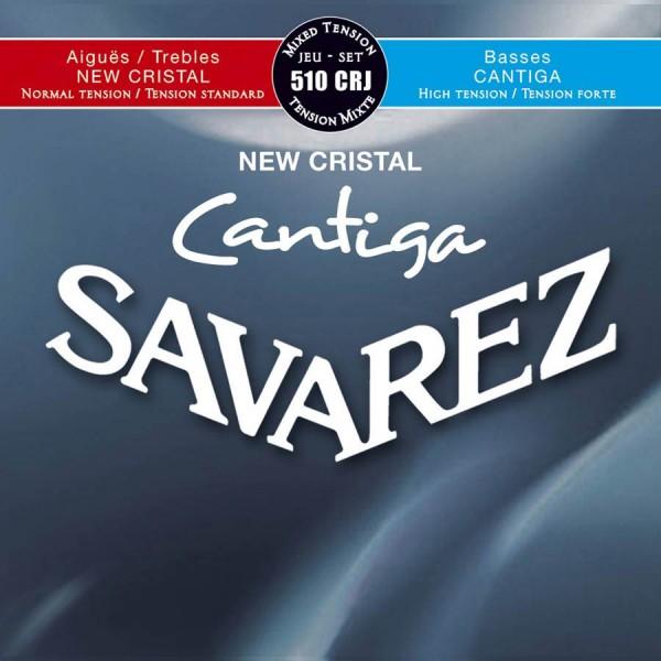 510-CRJ   Savarez New Cristal Cantiga für Konzertgitarre