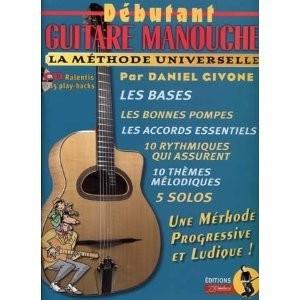 Givone : Débutant guitare manouche (+ 1 CD)