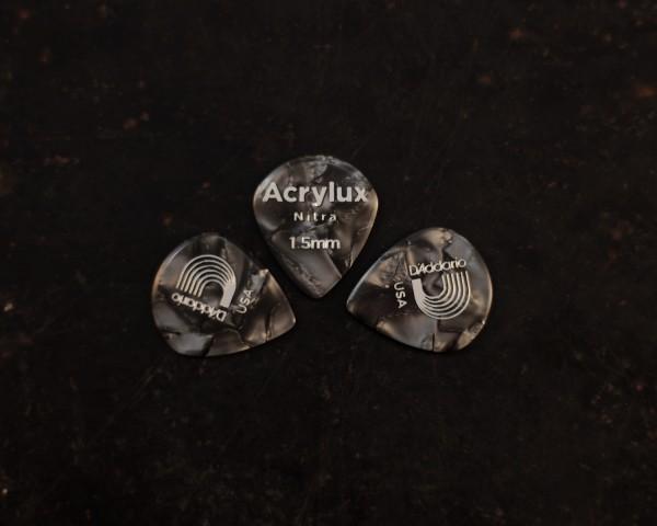 D'Addario ACRYLUX NITRA 1.5 PICKS