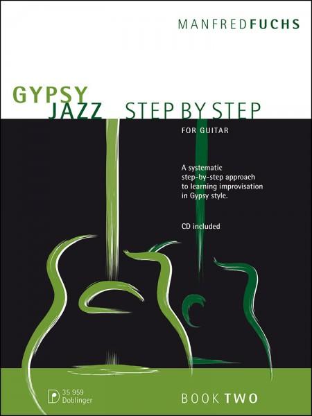Gypsy Jazz - Step By Step (2) For Guitar mit CD von Manfred Fuchs-Copy