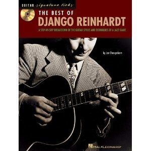 Hal Leonard Guitar Signature Licks The Best of Django Reinhardt