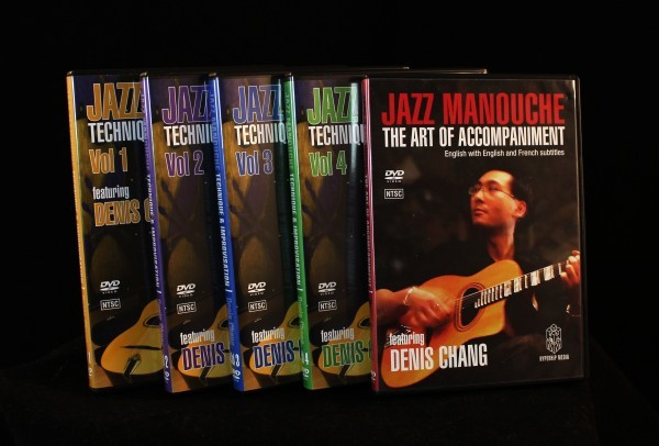 The almost Complete Chang DVD Set JAZZ MANOUCHE Denis Chang