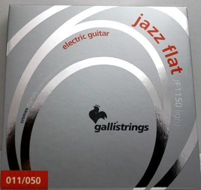 Galli flat wound electric guitar strings