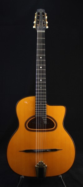 Saga Gitane DG 350 Jan Akkerman 14 FRET - D-HOLE