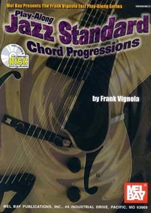 Play-Along Jazz Standard Chord Progressions rank Vignola