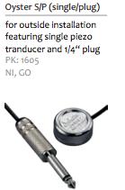 SCHALLER OYSTER single plug
