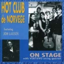 Hot club de Norvege featuring Jon Larsen - On Stage with Vertavo